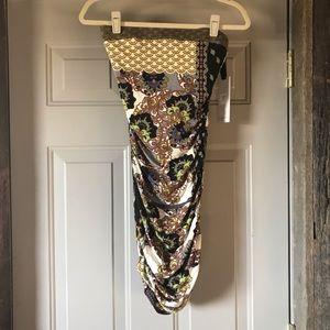 Hale Bob Strapless Dress
